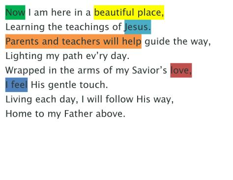 I Know that My Savior Loves Me Word Strips-page-003