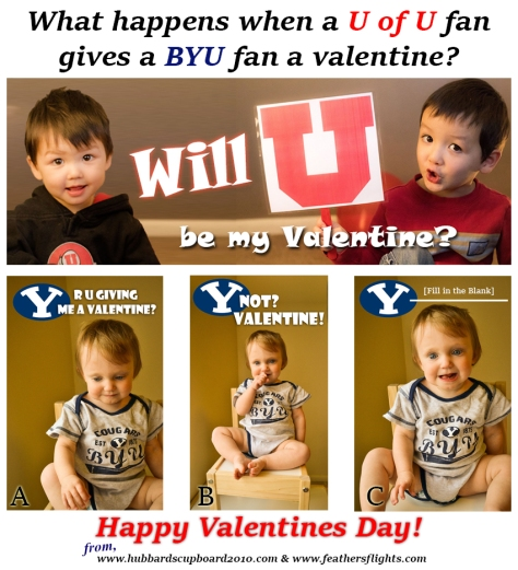 BYU Utah Valentine