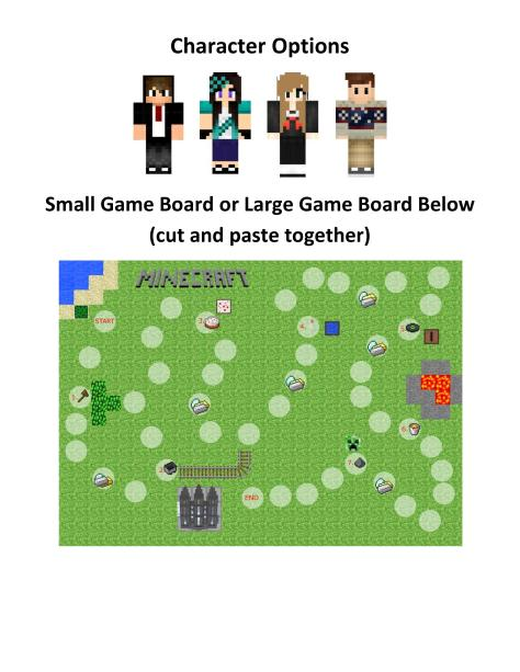 Senior Primary Minecraft Board Game for Singing Time 2-page-002