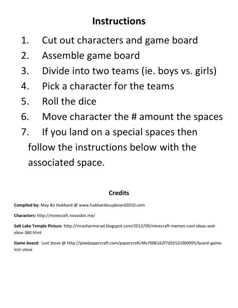Senior Primary Minecraft Board Game for Singing Time 2-page-005